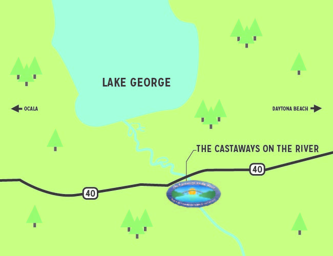 Lake George map