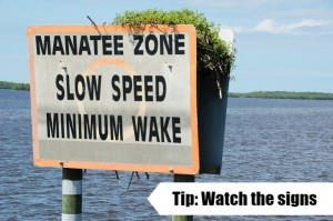 boating etiquette signs