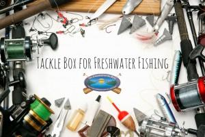 tackle box freshwater supplies