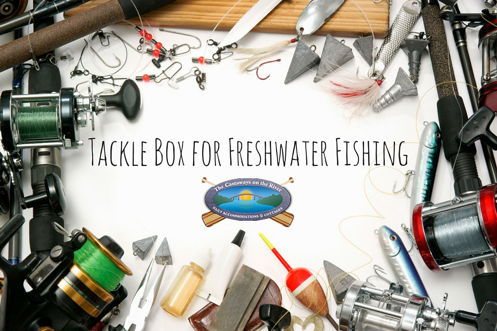 tackle box freshwater supplies