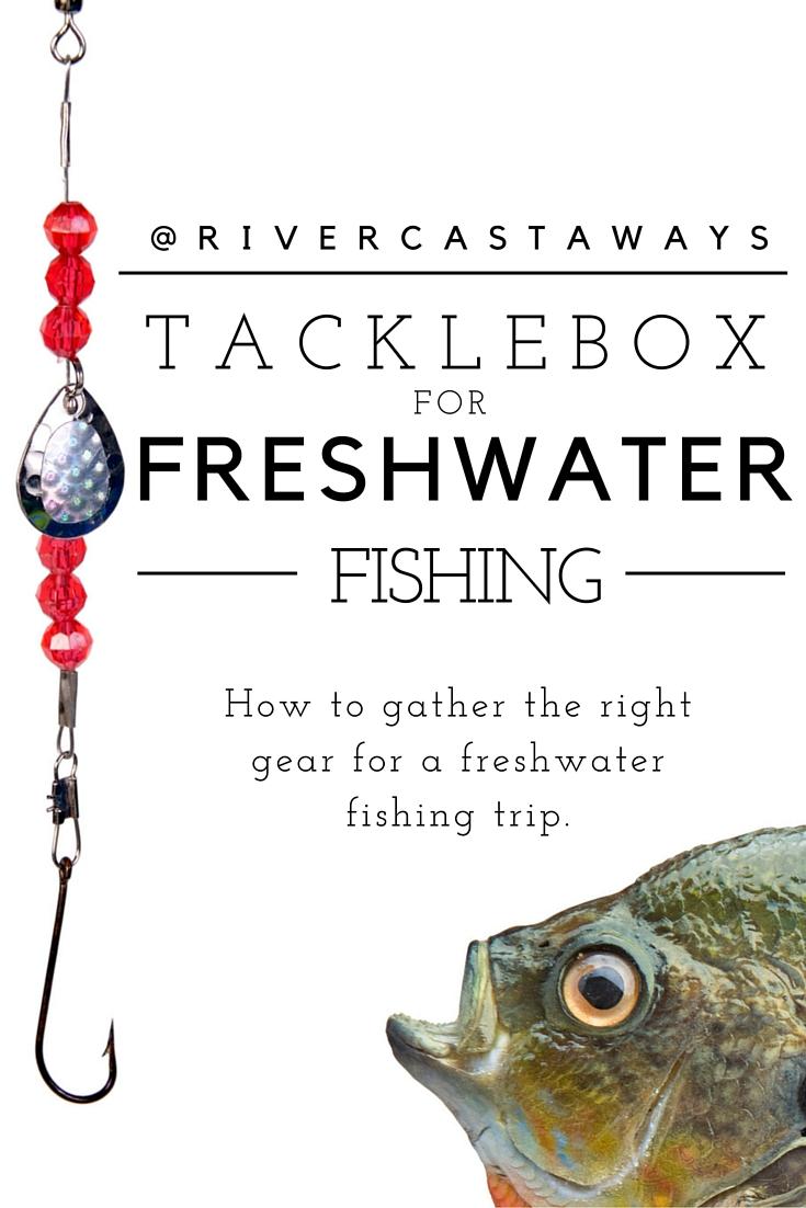 Freshwater fishing license - Tackle Box Freshwater Fish