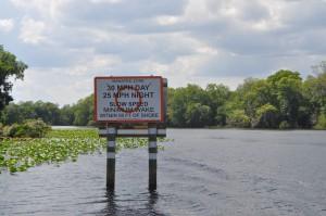 boating sign