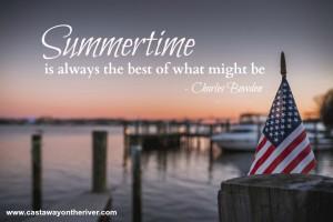 summer fun boating