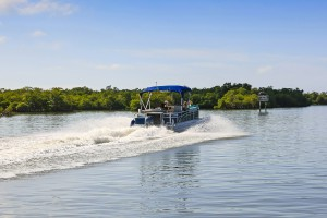 boating on the St. Johns River