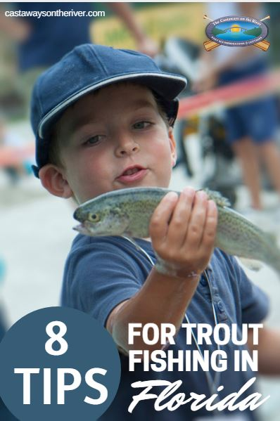 trout fishing Pinterest image