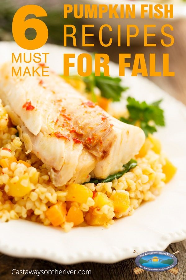 pumpkin fish recipes Pitnerest pin