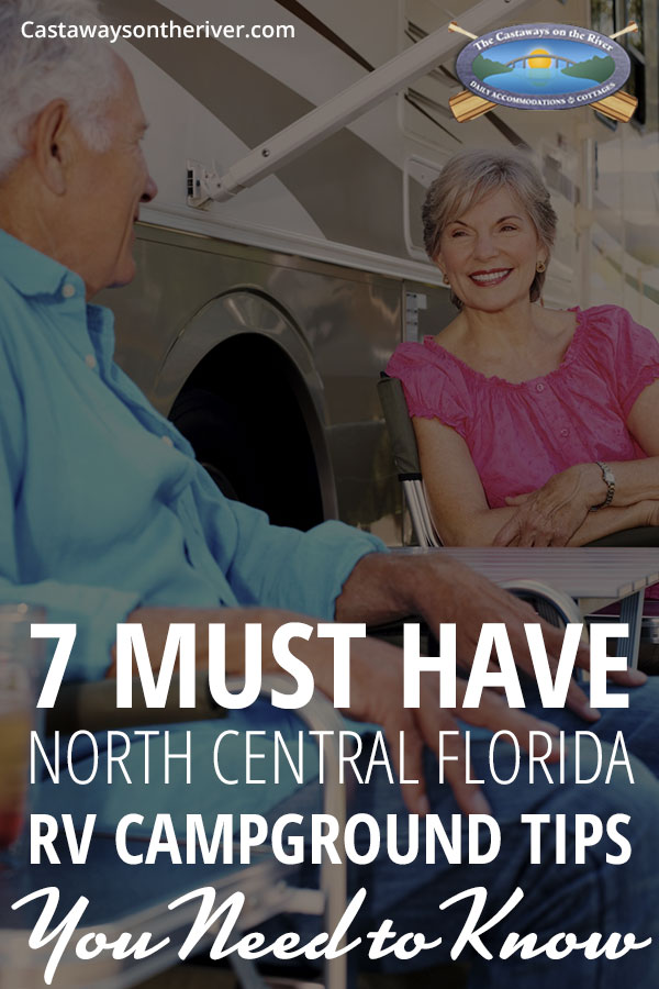 rv campgrounds florida Pinterest image