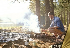 tips for building a campfire Ocala National Forest