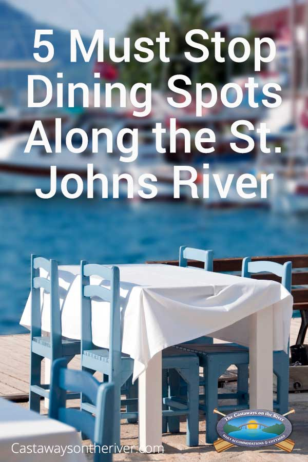 dining along st. johns river image